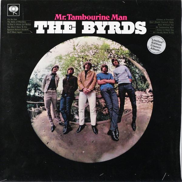 Byrds Mr Tambourine Man 180 Gr купить виниловую