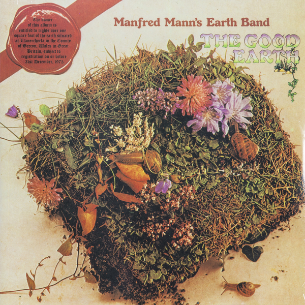 Manfred Mann's Earth Band Manfred Mann's Earth Band - The Good Earth 3d earth pattern round mat