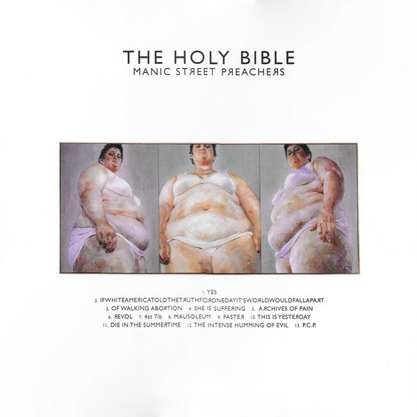 Manic Street Preachers Manic Street Preachers - The Holy Bible manic street preachers manic street preachers the profile 2 cd