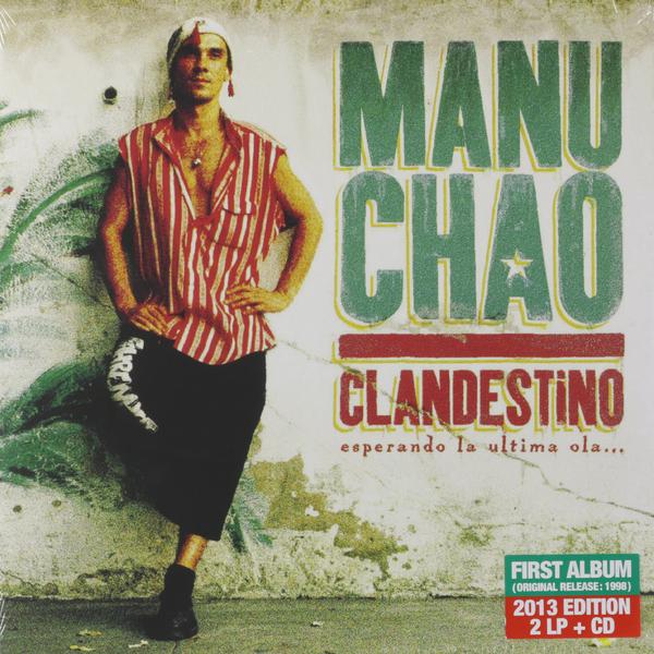 Manu Chao Manu Chao - Clandestino (lp+cd) аксессуар tt esports chao waist bag eac esc003wb