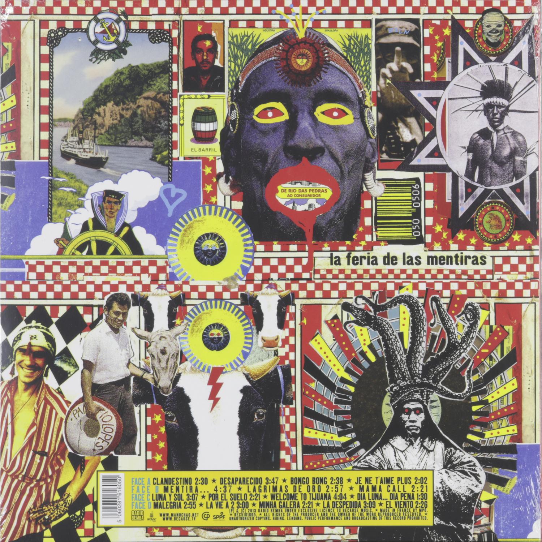 MANU CHAO - CLANDESTINO (LP+CD), купить виниловую ...