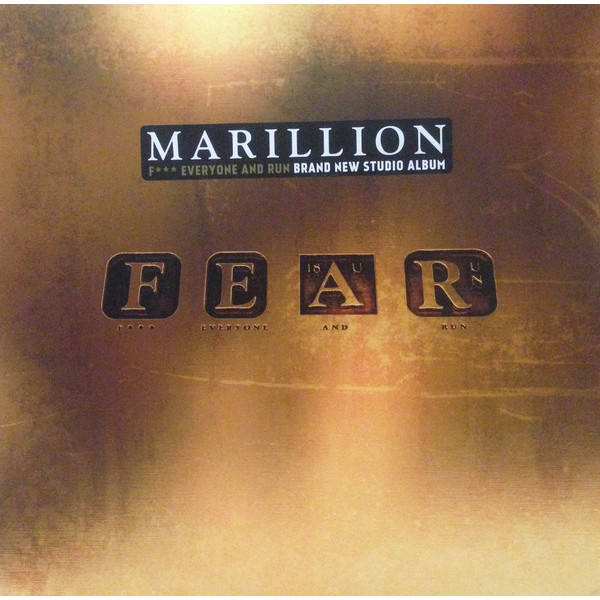 Marillion - Fear Fuck Everyone And Run (2 LP)