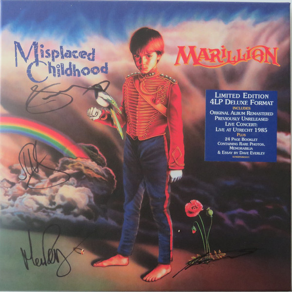 Marillion Marillion - Misplaced Childhood (4 LP) marillion marillion anoraknophobia 2 lp