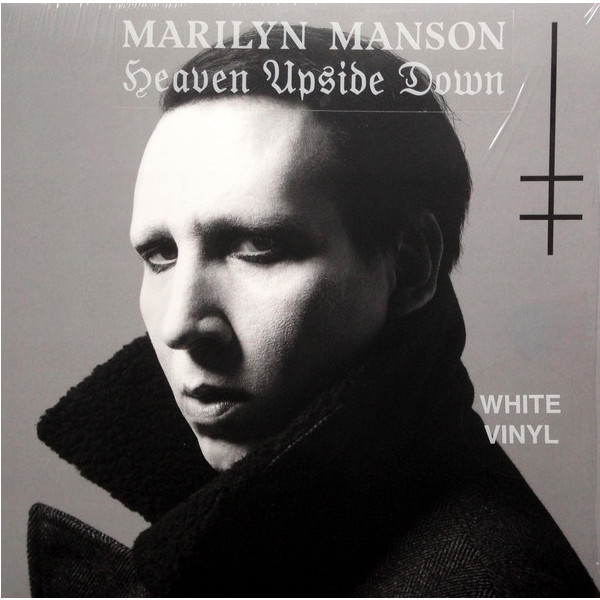 Marilyn Manson Marilyn Manson - Heaven Upside Down (colour) upside down cd cdr by rick sampedro level e