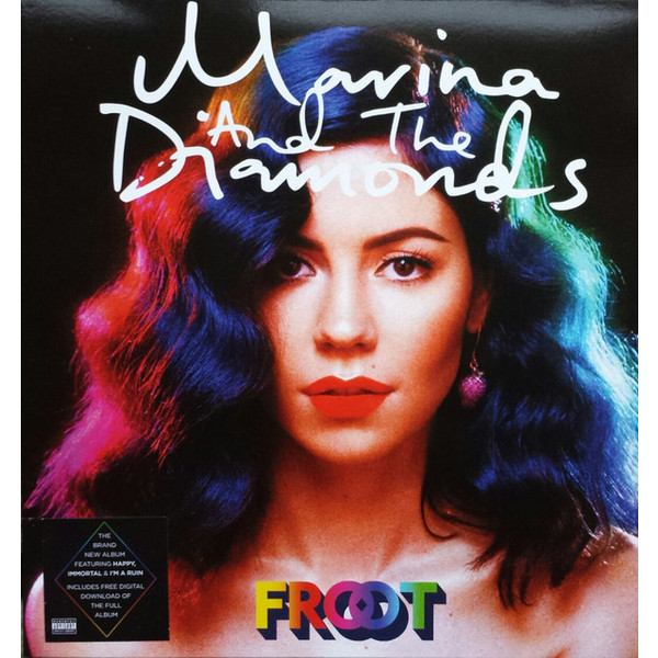 Marina   The Diamonds Marina   The Diamonds - Froot (coloured Vinyl) diamonds cd