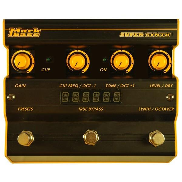 Педаль эффектов Markbass Super Synth педаль эффектов ernie ball 25k stereo volume pedal