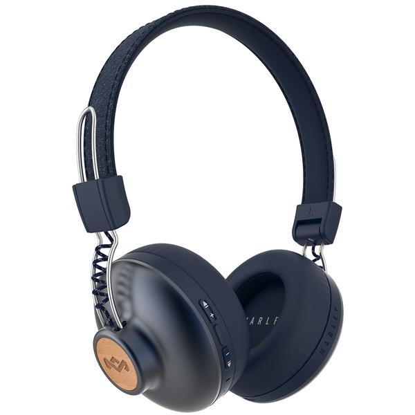 Фото - Беспроводные наушники Marley Positive Vibration 2 Wireless Denim наушники marley positive vibration xl em jh141 bl denim