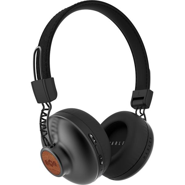 Фото - Беспроводные наушники Marley Positive Vibration 2 Wireless Signature Black наушники marley positive vibration xl em jh141 bl denim