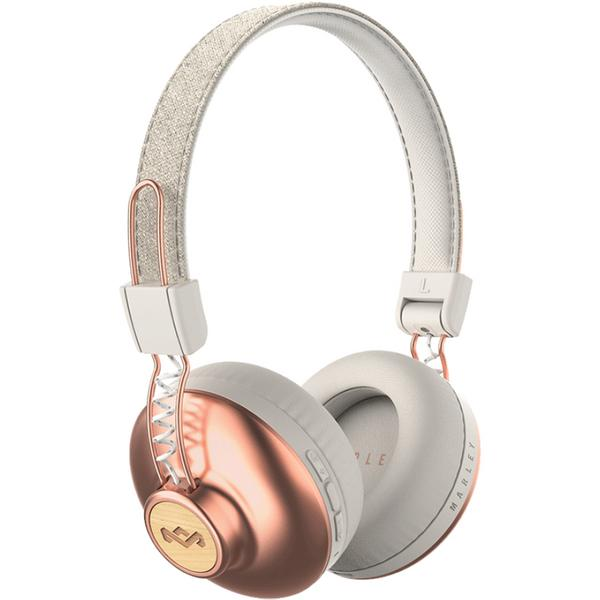 Беспроводные наушники Marley Positive Vibration 2 Wireless Copper наушники marley positive vibration xl em jh141 bl denim