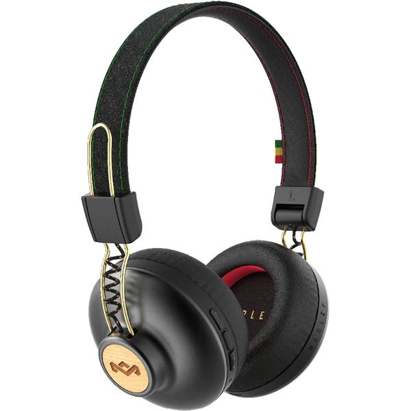 Беспроводные наушники Marley Positive Vibration 2 Wireless Rasta наушники marley positive vibration xl em jh141 bl denim