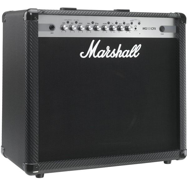 Гитарный комбоусилитель Marshall MG101CFX marshall mg101cfx гитарный комбоусилитель black
