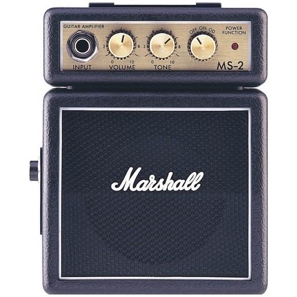 Гитарный мини-усилитель Marshall Гитарный мини-комбоусилитель MS-2 marshall mg101cfx гитарный комбоусилитель black
