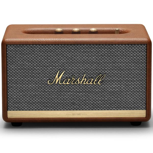 Фото - Беспроводная Hi-Fi акустика Marshall Acton II Brown беспроводная hi fi акустика marshall woburn ii brown