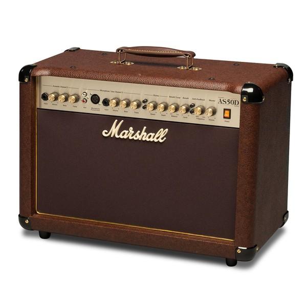 Гитарный комбоусилитель Marshall AS50D гитарный кабинет marshall mx412ar