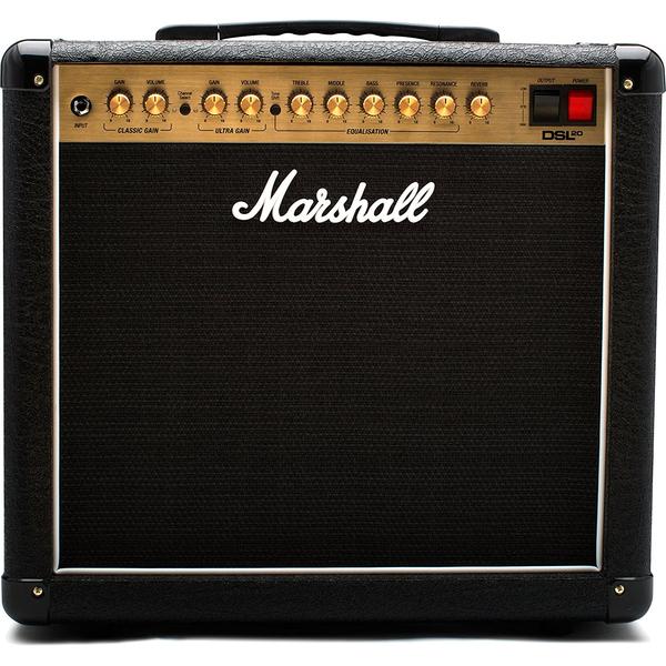 Гитарный комбоусилитель Marshall DSL20 COMBO marshall mg101cfx гитарный комбоусилитель black