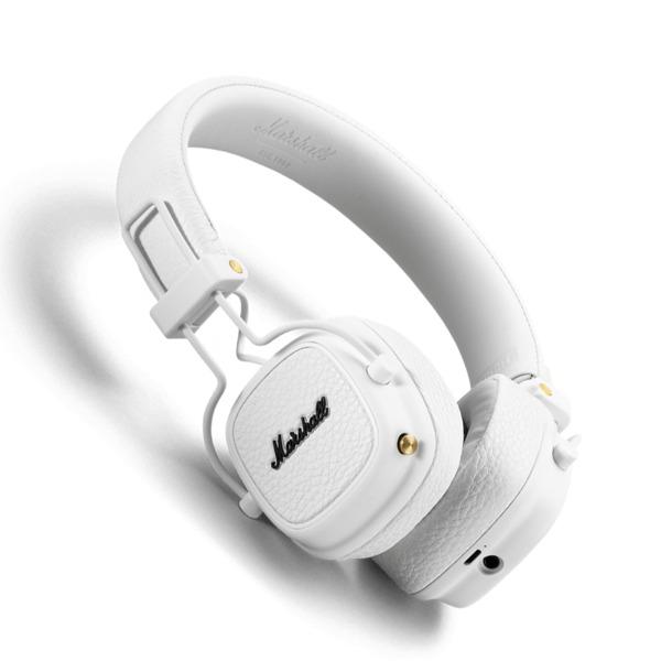Беспроводные наушники Marshall Major III Bluetooth White