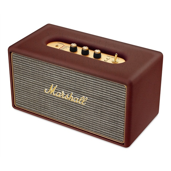 Беспроводная Hi-Fi акустика Marshall Stanmore Brown беспроводная bluetooth колонка edifier m33bt