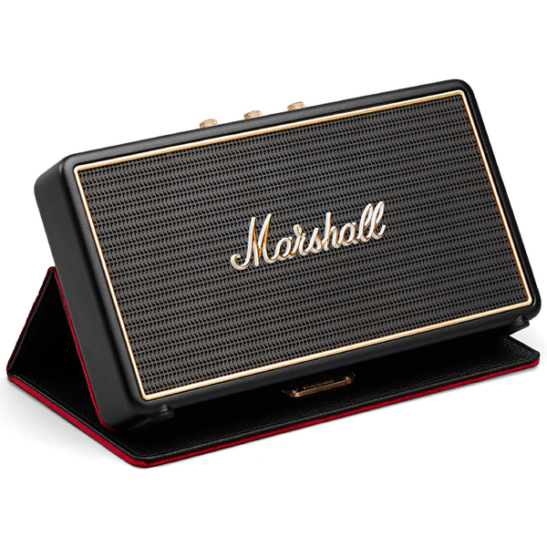 Портативная колонка Marshall Stockwell Black + Case портативная bluetooth колонка marshall stockwell black