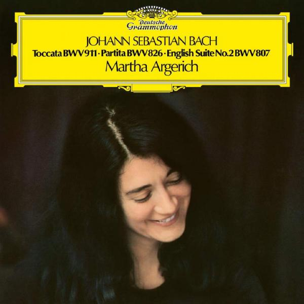 BACH BACHMartha Argerich - : Toccata C-moll / Partita Nr. 2 Englische Suite