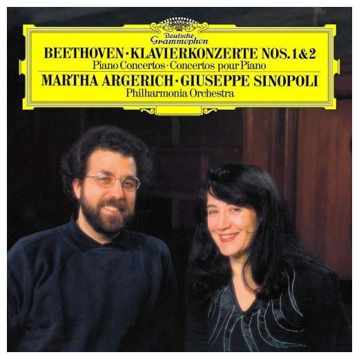 Martha Argerich Martha Argerich - Beethoven: Piano Concertos Nos. 1 2 (2 LP) дэниэл баренбойм пьер булез staatskapelle berlin daniel barenboim pierre boulez liszt piano concertos
