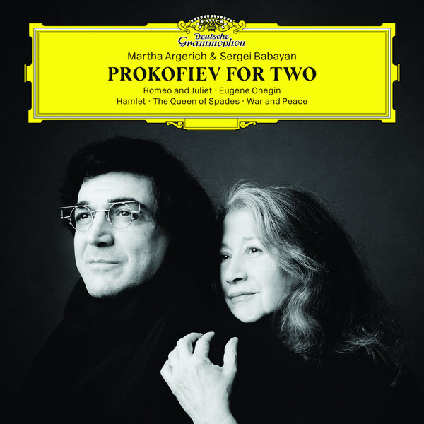 Prokofiev ProkofievMartha Argerich Sergei Babayan - For Two (2 LP) nadia koval sergei prokofiev