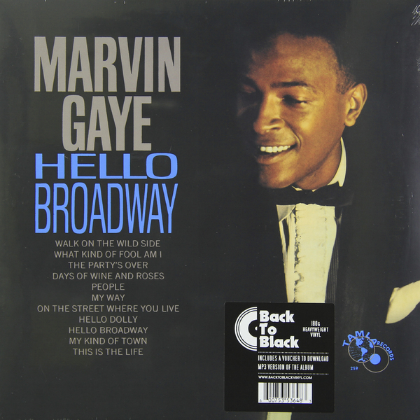 Marvin Gaye Marvin Gaye - Hello Broadway (180 Gr) марвин гэй marvin gaye m p g lp