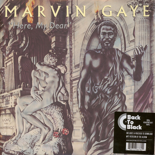 Marvin Gaye Marvin Gaye - Here, My Dear (2 LP) натяжной чехол marvin quelle my home 552847