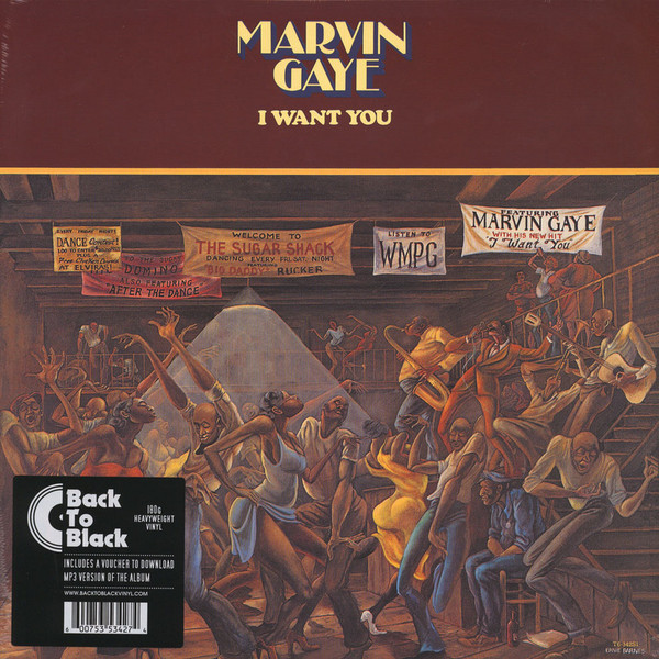 Marvin Gaye Marvin Gaye - I Want You ash ash 43148 43148