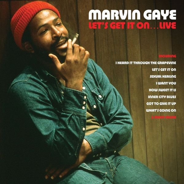 Marvin Gaye Marvin Gaye - Let's Get It On…live (2 Lp, Colour) марвин гэй marvin gaye what s going on blu ray audio