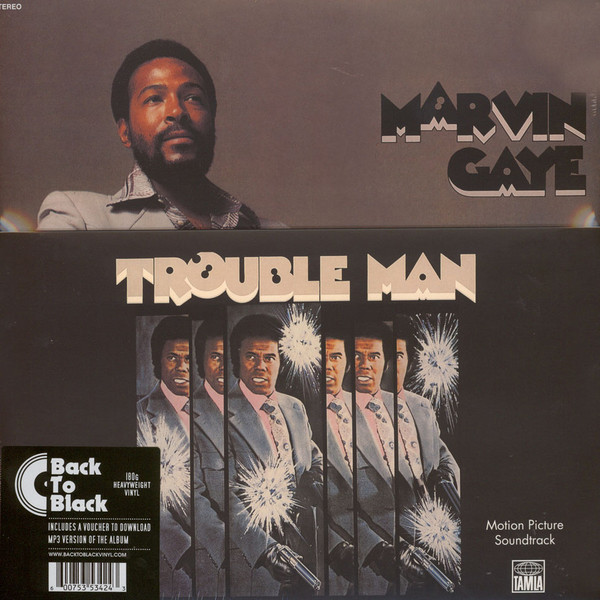 Marvin Gaye Marvin Gaye - Trouble Man марвин гэй marvin gaye trouble man motion picture soundtrack lp