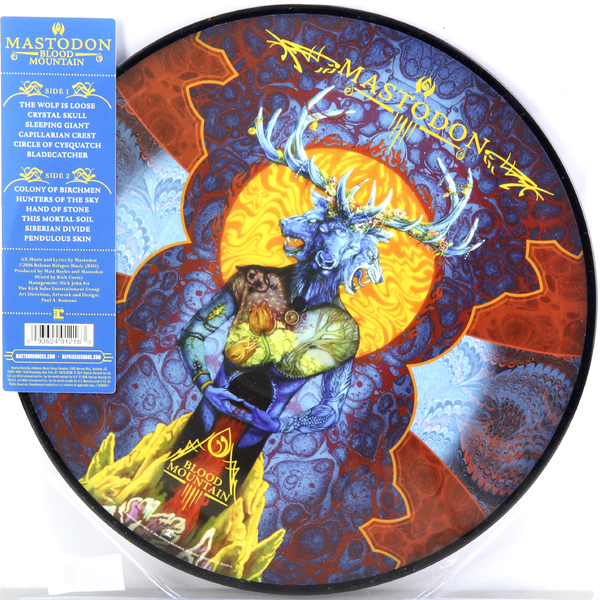 Mastodon Mastodon - Blood Mountain (picture Disc) цены онлайн