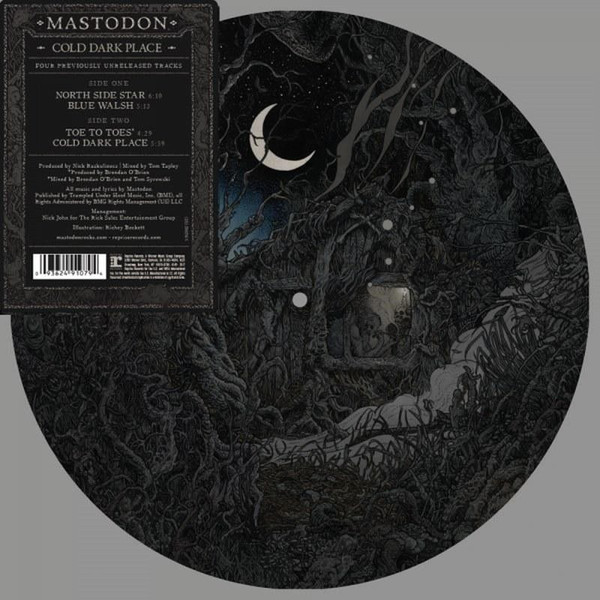 Mastodon Mastodon - Cold Dark Place (picture Disc) цены онлайн