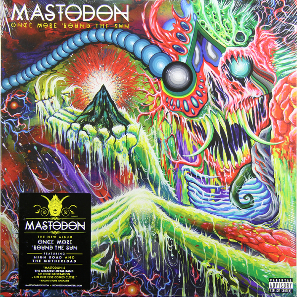 Mastodon Mastodon - Once More Round The Sun (2 LP) cd mastodon once more round the sun