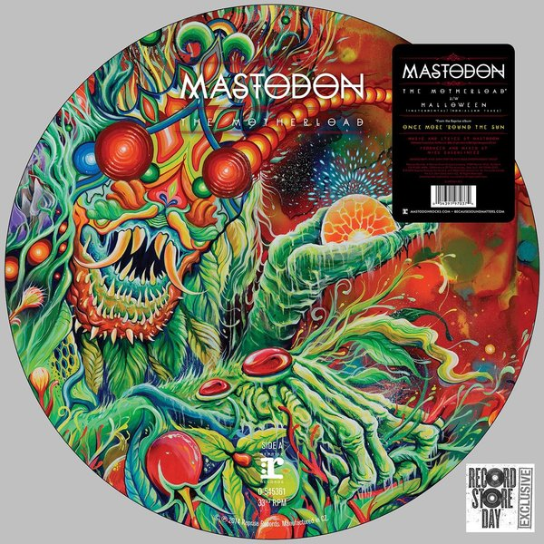 Mastodon Mastodon - The Motherload cd mastodon once more round the sun
