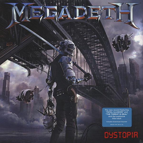 Megadeth Megadeth - Dystopia цены онлайн