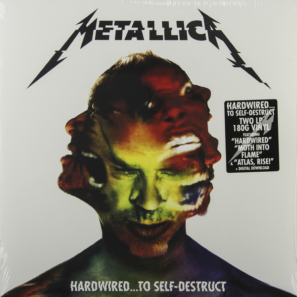 Metallica Metallica - Hardwired… To Self-destruct (2 Lp, 180 Gr) metallica quebec magnetic 2 dvd