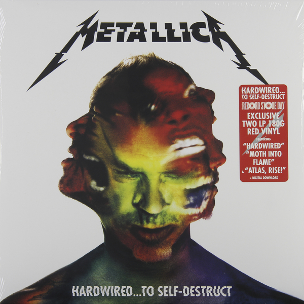 Metallica Metallica - Hardwired… To Self-destruct (color, 2 LP) metallica quebec magnetic 2 dvd