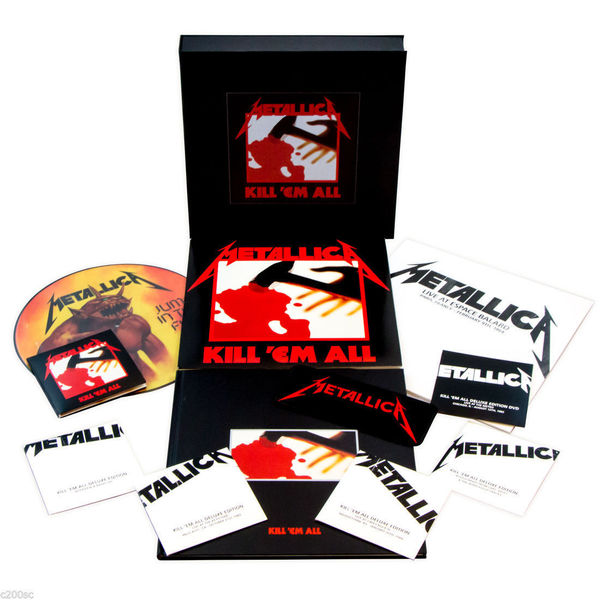 Metallica Metallica - Kill 'em All (4 Lp+5 Cd+dvd) metallica quebec magnetic 2 dvd