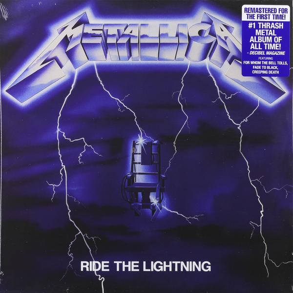 Metallica Metallica - Ride The Lightning ralph compton ride the hard trail