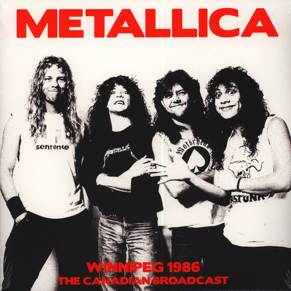Metallica Metallica - Winnipeg 1986 - Canadian Broadcast (2 LP)