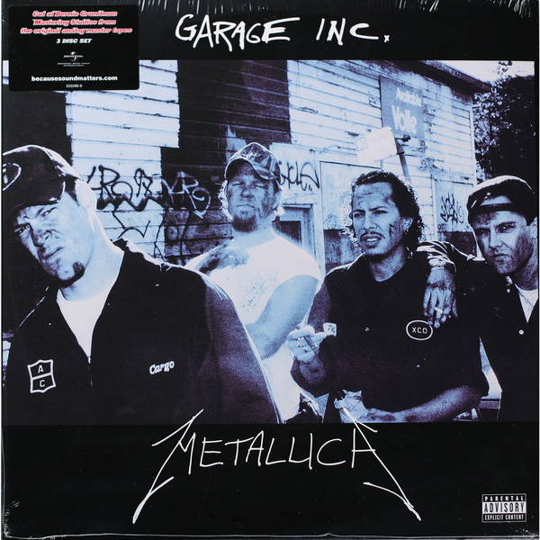 Metallica Metallica - Garage Inc (3 LP)