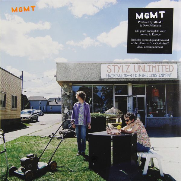 MGMT MGMT - Mgmt (180 Gr) mgmt mgmt oracular spectacular ecd
