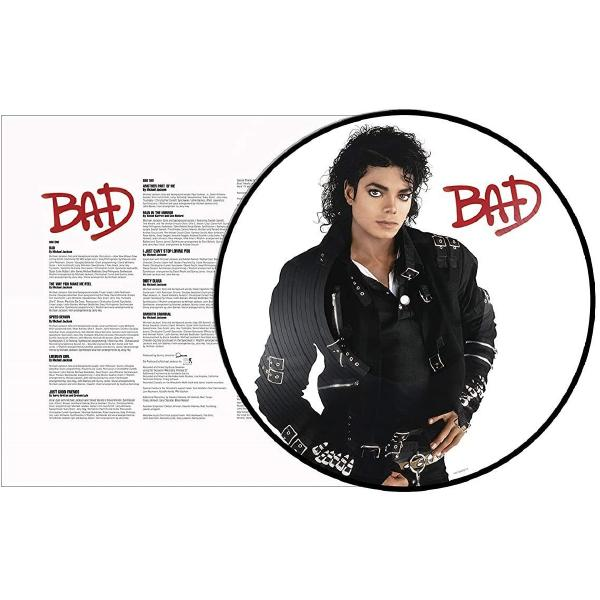 Michael Jackson Michael Jackson - Bad (limited, Picture Disc) caifanes caifanes caifanes vol 2 picture disc