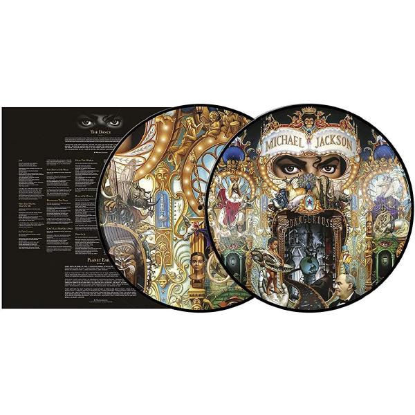 Michael Jackson - Dangerous (limited, Picture Disc, 2 LP)