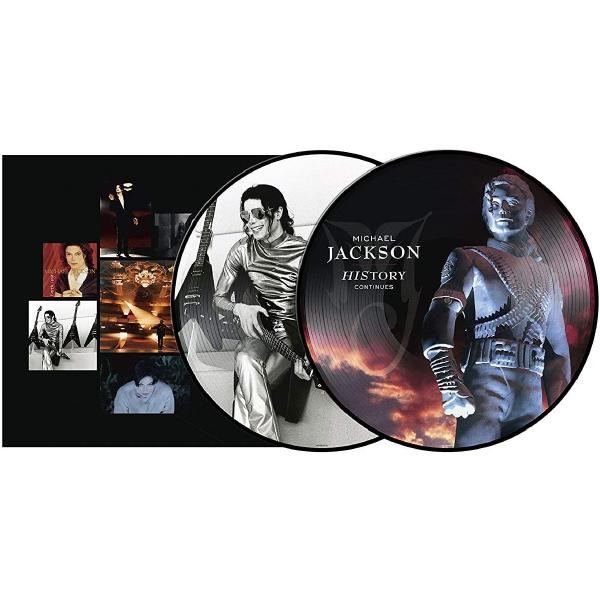Michael Jackson - History Continues (limited, Picture Disc, 2 LP)