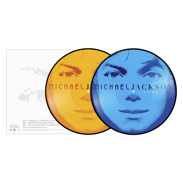 Michael Jackson Michael Jackson - Invincible (2 Lp, Picture) cd michael jackson thriller 25