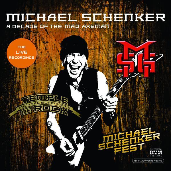 Michael Schenker Michael Schenker - A Decade Of The Mad Axeman (the Live Recordings) (180 Gr, 2 LP) michael schenker michael schenker a decade of the mad axeman the studio recordings 180 gr 2 lp