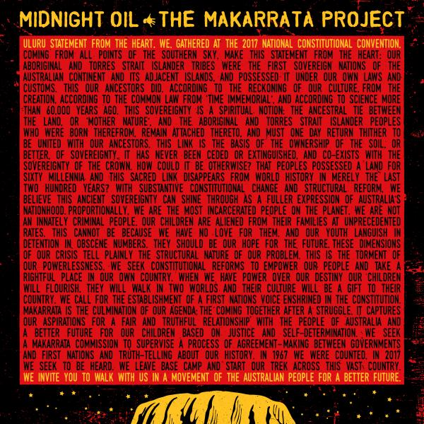 Midnight Oil - The Makarrata Project (colour)