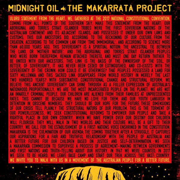 Midnight Oil - The Makarrata Project (colour)