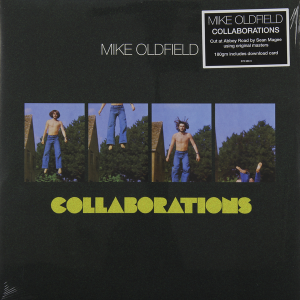 Mike Oldfield Mike Oldfield - Collaborations (180 Gr) виниловая пластинка mike oldfield tubular bells ii